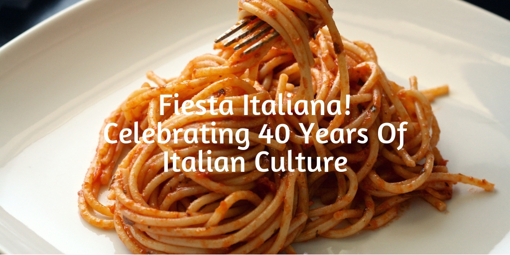 Starting Oct 11th - Oct 14th, The Italian Cultural & Community Center present the 40th Annual Fiesta Italiana! Since October is National Pasta Month, there couldn't be a better time to celebrate everything Italian.
